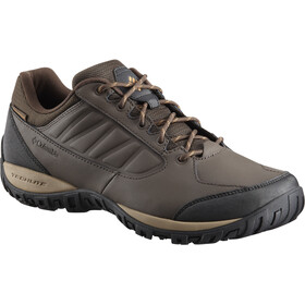 Columbia Ruckel Ridge WP Shoes Men Cordovan/Canyon Gold